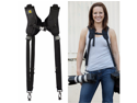 BlackRapid DR-1 Double DSLR Camera Strap for Two Cameras Black Rapid RSD-1BB