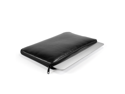 "GMYLE (R) Black PU Leather Dual Zipper Sleeve Case Cover For 13"" Macbook Air"