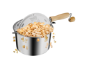 Great Northern Popcorn Original Stainless Stove Top 6 1/2 Quart Popcorn Popper