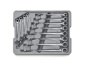 Gearwrench 85888 12 piece XL X-Beam Double Box Ratcheting Socketing Wrench Set - Metric
