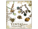 Vintaj Natural Brass Company Jewelry Technique Book