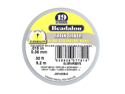 "Beadalon Wire ""Satin Silver"" 19 Strand .015 In./ 30Ft"