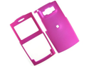 Rubberized Plastic Proguard Case Hot Pink For Samsung ACE i325