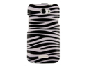 Plastic Snap On Zebra Design Phone Protector Case for HTC One X