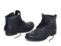 New Mens Ankle Boots Dress or Casual Leather Lined Shoes Lace up Slip On Pull up