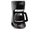 12 Cup Programmable Coffeemaker, Black