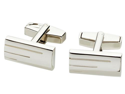Janus Nickel Chrome Plated Cuff Links