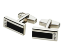 Reno Stainless Steel Cufflinks