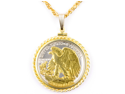 "U.S. .Walking Lib. half dollar 24"" Chain Necklaces"