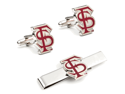 Florida State University Seminoles Cufflinks and Tie Bar Gift Set