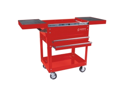 Compact Slide Top Utility Cart Red