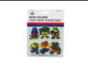 Magnetic hippo memo holders - Pack of 24