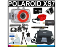 Polaroid XS7 HD 720p Waterproof Action Camera + 16GB Card + Pro Accessory Kit