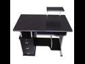 Merax Office Contemporary Style Computer Desk, Black