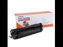 Merax Premium Compatible High Yield Black Toner Cartridge for HP Q2612A