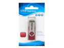 Merax 4GB USB 2.0 Flash Drive, Red, Retail, Model M4GRD