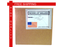 USA Self Adhesive Panel Face Packing List Envelopes Bags 4 1/2 x 5 1/2 1000 Per Cases