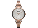 Fossil Georgia Stainless Steel Quartz Gold Women's Watch - ES3110