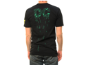 "DC Shoes Men's ""MLF158"" Graphic Print T-Shirt Black 54200061-BLK-S"