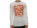 "Alpinestars Men's ""Stacked Thermal"" Graphic T-Shirt White-L"