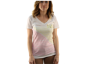 "Roxy Women's ""BELIEVE ME-SV"" White V-Neck T-Shirt 471I71SV-WHT-XL"