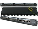 CAT6 SHIELDED 24 PRT 110-IDC PATCH PANEL