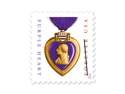 Purple Heart 2012 Set of 4 x Forever U.S. First class postage Stamps NEW Mint