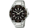 Seiko SKA433 Mens  Kinetic  Black Dial
