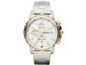 Men's Fossil Dean Two-Tone Chronograph Steel Watch FS4795