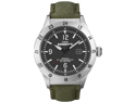 Timex Men's Expedition T49880 Green Nylon Quartz Watch with Black Dial