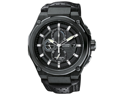 Citizen CA0315-01E Black Stainless Steel Eco-Drive Chronograph Black Dial Leather Strap