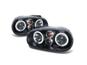 1999-2005 VW GOLF MK4 EURO BLK PROJECTOR HEADLIGHTS 99
