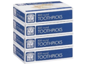 Bakers & Chefs Round Toothpicks - 4/800ct
