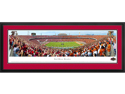 RED RIVER RIVALRY - END ZONE - Deluxe Framed Panoramic Print