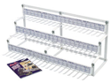 Motion Pro 01-0153 CABLE RACK 500 CABLES/3TIER MP