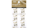 KMC 11-Speed Bicycle Chain Missing Link - Card of 6 - MISSINGLINK-11