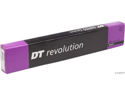 DT Swiss Revolution 2.0/1.5 x 292mm black spokes. Box of 72 with silver alloy