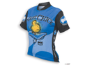World Jerseys Women's Biker Chick Cycling Jersey: Blue~ LG
