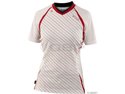 Royal Women's Concept Cycling Jersey: White/Red~ LG