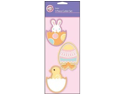 Cookie Cutters 3/Pkg-Egg&#59; Bunny&#59; Chick