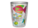 Nautical Tropical Fish Insulated Tumblers 16 oz Set /4