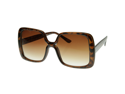 Womens Oversized Large Bold Square Fashion Sunglasses
