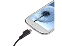Black Micro USB Vehicle Auto Car Charger For Samsung Galaxy S3 S III i9300