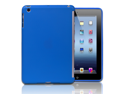 "Blue Smart Cover Compatible Companion Slim TPU Back Cover Case For Apple iPad Mini 7.9"" Tablet"