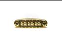 Graph Tech Resomax NW1 Harmonic Wraparound Locking Bridge  Alloy Saddles - Gold