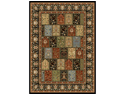 "Home Dynamix Area Rugs: Royalty Rug: 41200: Black 5'2""x7'2"
