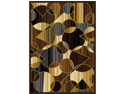 "Home Dynamix Area Rugs: Royalty Rug: 8100 Brown Gray 7'8""x10'4"