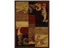 "Home Dynamix Area Rugs: Catalina Rug: 1258-539 Brown - Red: 5'2""x7'4"" Rectangle"