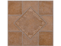 Creative Home: Nexus Vinyl Self Stick Tile: 445 Southwest Ceramic: 1 Box 20 Tiles: Covers 20 Sq. Ft.