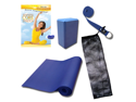 Yoga DVD Kit LIMITED time offer - with 4mm mat (DVD, mat, block, bag and strap)